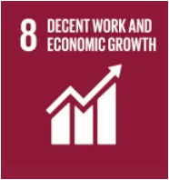 United Nations Sustainable development goal 8: decent work & economic growth with OEE