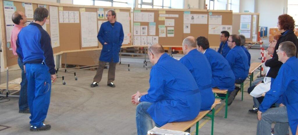 Kaizen Team presentation based on OEE
